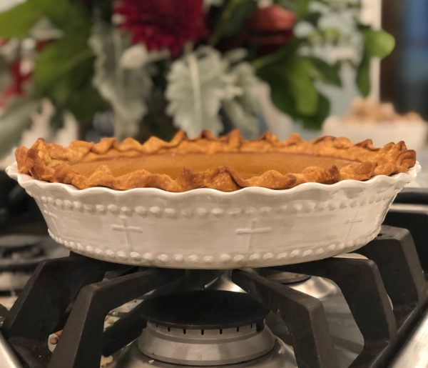 Greater Love Pie Plate